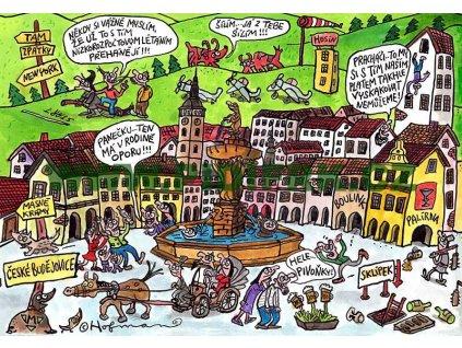 15518 3 pohlednice pidifrk ceske budejovice