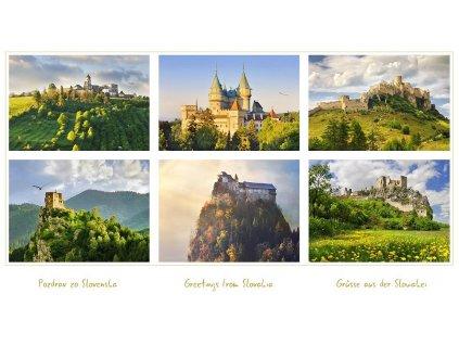 470 pohlednice pozdrav zo slovenska 2 24 x 13 5 cm