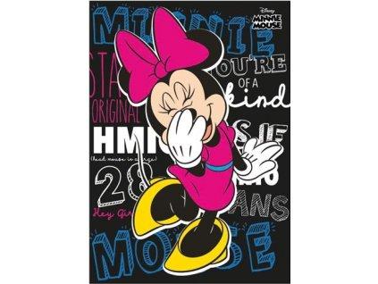 Postcard Laughing Minnie