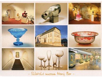 935 pohlednice sklarske muzeum novy bor