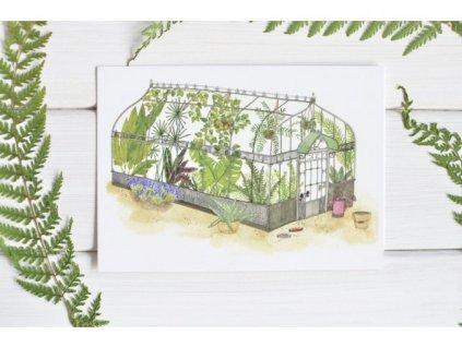 Postcard Greenhouse