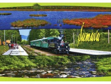 62 pohlednice sumava