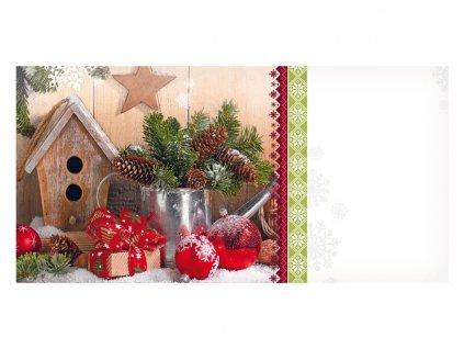 Envelope DL - Christmas motif 09