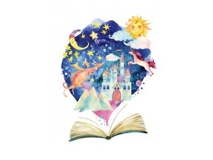 Postcard World of fairy tales