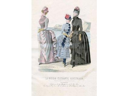 Rycina moda paryska