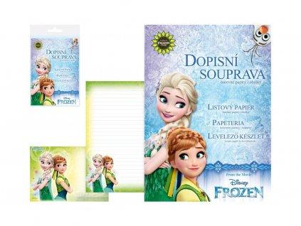 Stationery set Frozen - Anna and Elsa