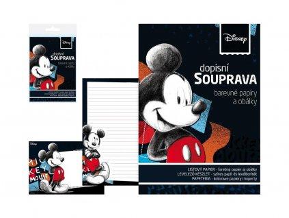 Stationery set Mickey Mouse
