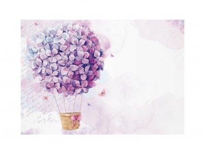 obalka fialkovy balon