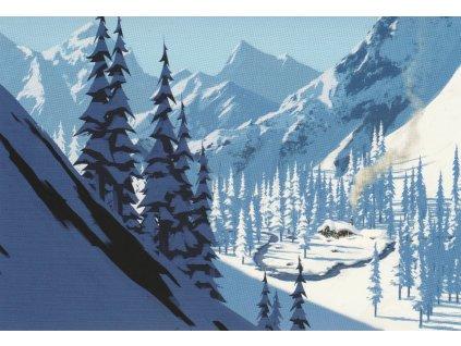Postcard Frozen - Oaken´s post