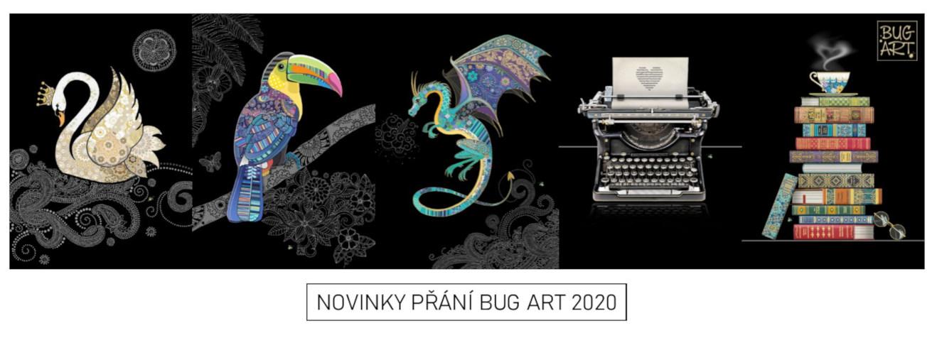 NOVINKY PŘÁNÍ BUG ART 2020