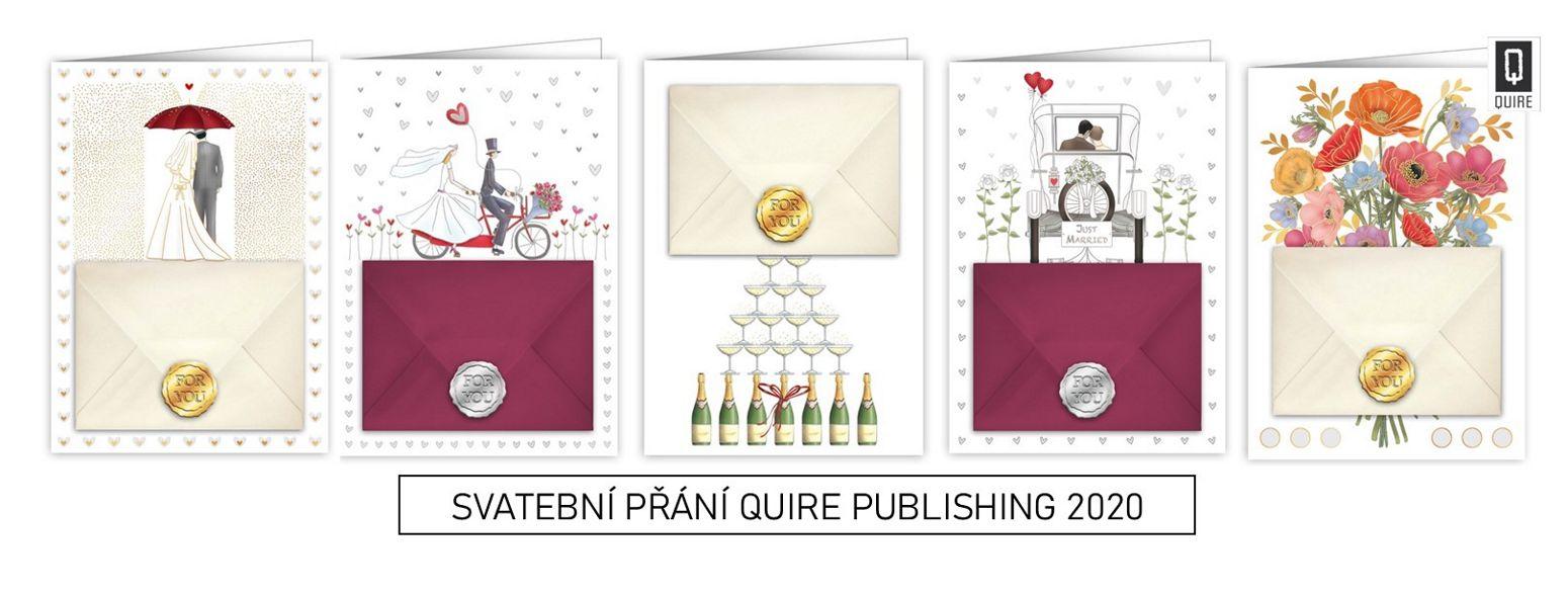 svatební přání QUIRE PUBLISHING 2020