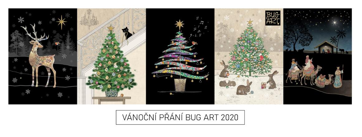 Vánoční přání BUG ART 2020