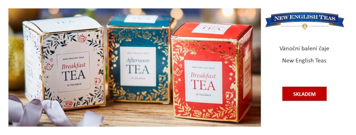 New English Teas vánoční 2020