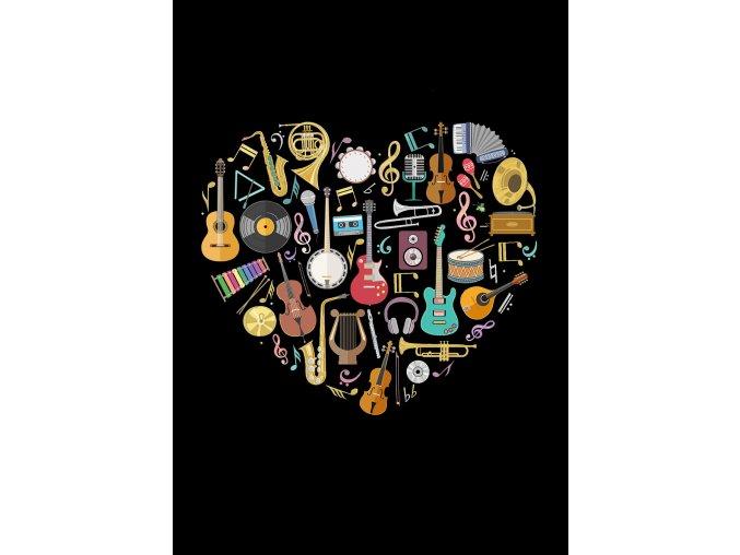 M154 Music Heart