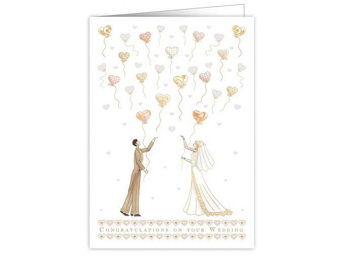 wedding heart balloons 9828