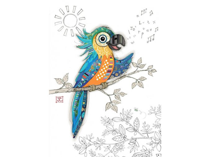 G035 Percy Parrot