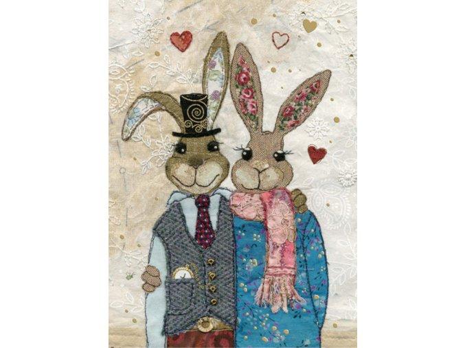 A033 Rabbit Couple