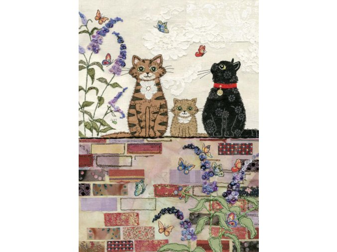 A034 Cats on a Wall