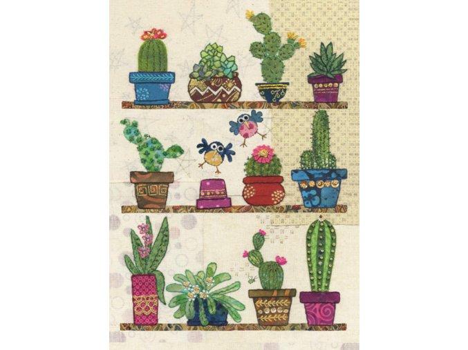 A042 Cacti Pots