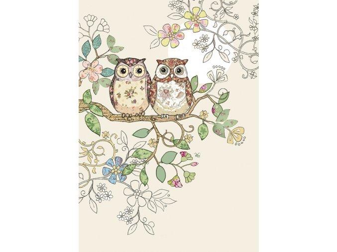 B006 Owl Pair 1