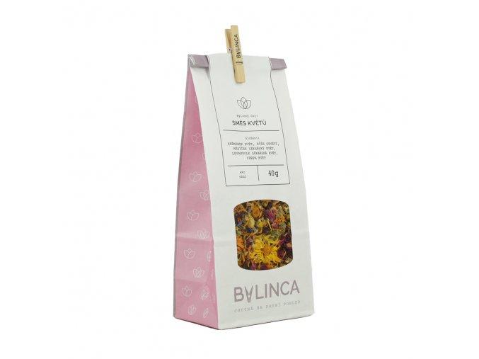 Bylinný čaj: Směs květů 40g BLNC1815 BYLINCA