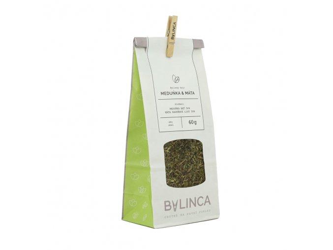 Bylinný čaj: Meduňka & Máta 60g BLNC183 BYLINCA