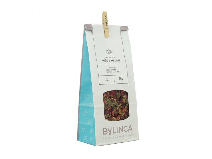 Bylinný čaj: Růže & Malina 40g BLNC1818 BYLINCA