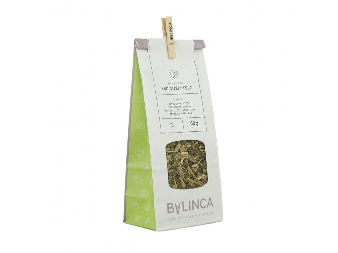 Bylinný čaj: Pro duši i tělo 60g BLNC133 BYLINCA