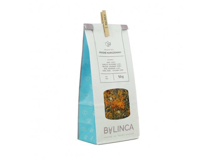 Bylinný čaj: Krásné narozeniny 50g BLNC178 BYLINCA
