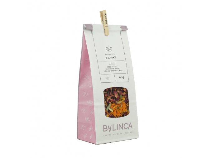 Bylinný čaj: Z lásky 40g BLNC190 BYLINCA