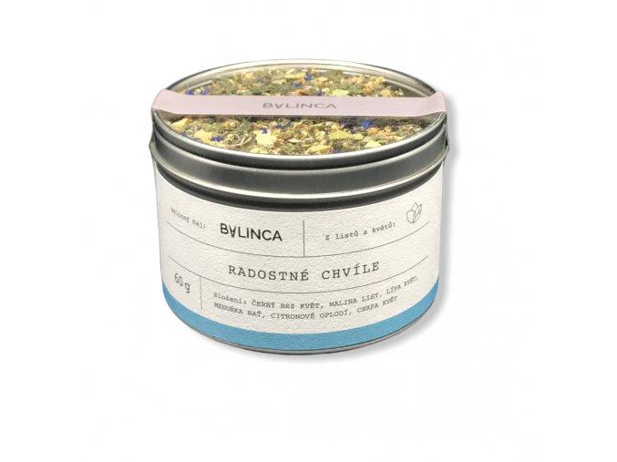 Bylinný čaj: Radostné chvíle 60g BLNC198 BYLINCA