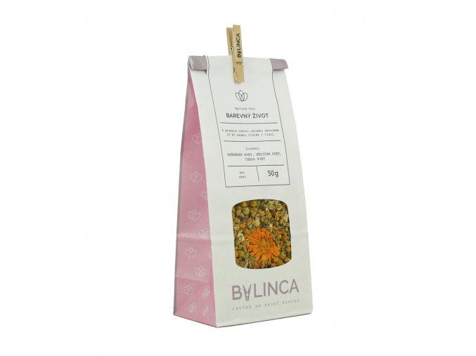 Bylinný čaj: Barevný život 50g BLNC342 BYLINCA