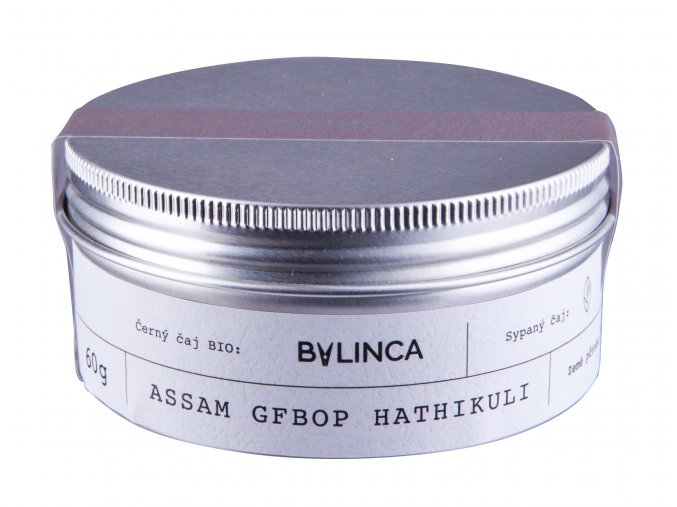 Černý čaj Assam GFBOP Hathikuli BIO 60G BLNC50 BYLINCA