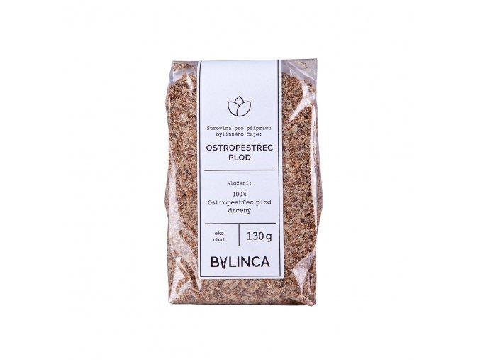 Bylinka: Ostropestřec mariánský plod drcený 130g BLNC710 BYLINCA