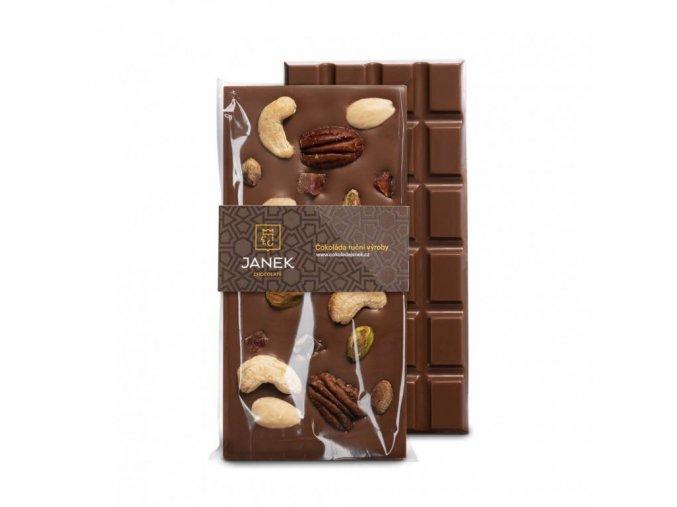 "Mléčná čokoláda ""Jankova pečeť"" 100g BLNC974 BYLINCA"
