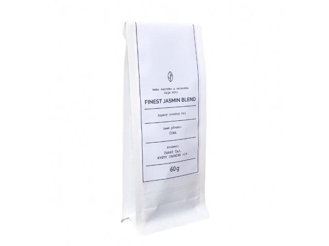 Směs černého a zeleného čaje BIO - Finest Jasmine Blend Organic tea 60g BLNC1194 BYLINCA