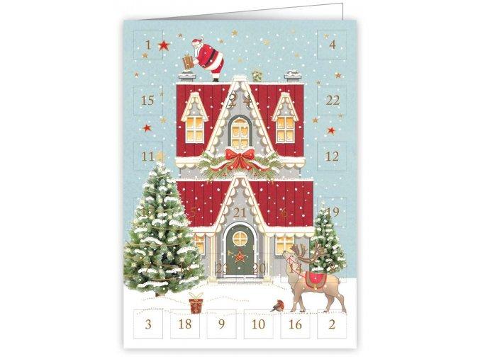 Přání adventní kalendář 6370 QP