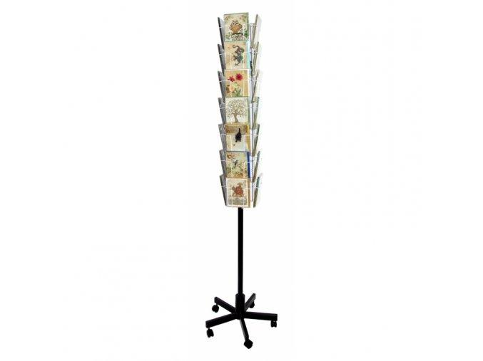 prodejni stojan podlahovy 56 kapes 13x18 cm