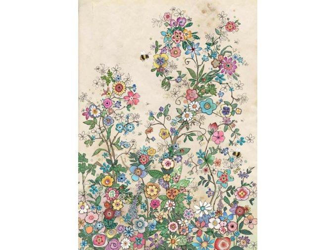 D175 Bee Flowers