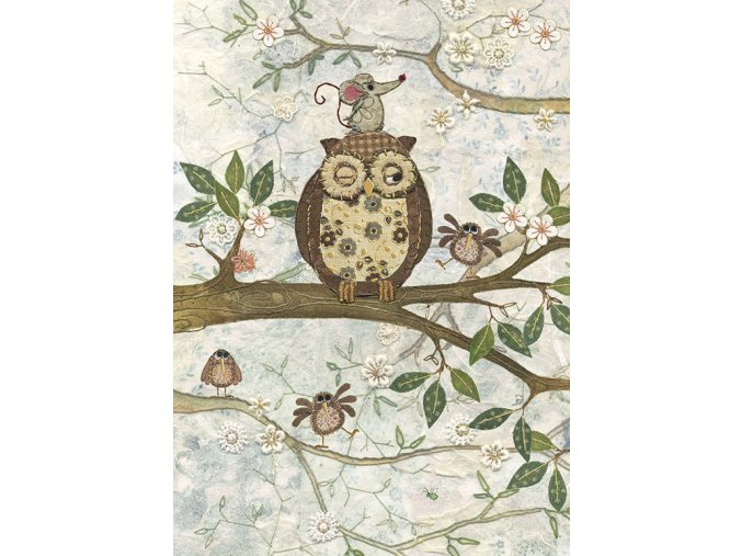A011 Owl and Mouse copy