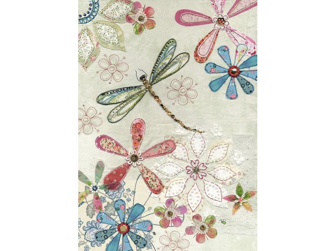 A035 Floral Dragonfly