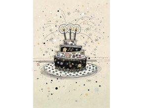 H002 Birthday Cake
