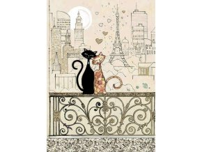 H017 Romantic Cats
