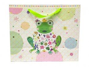 Dárková taška GOLDBUCH 27x33 cm, Happy Frog
