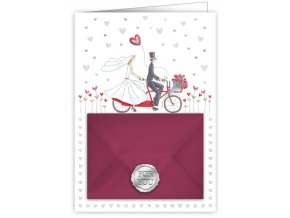 wedding bicycle 8874
