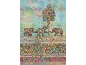 e014 indian elephants