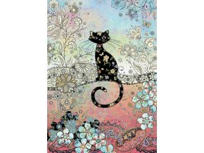 E038 Patterned Cat