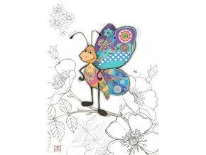 G025 Bertie Butterfly