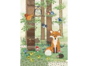 a018 woodland fox