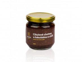 Cibulové chutney s čokoládou a chilli 200ml BLNC845 BYLINCA